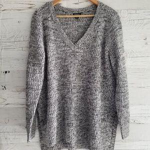 Torrid V neck knit sweater